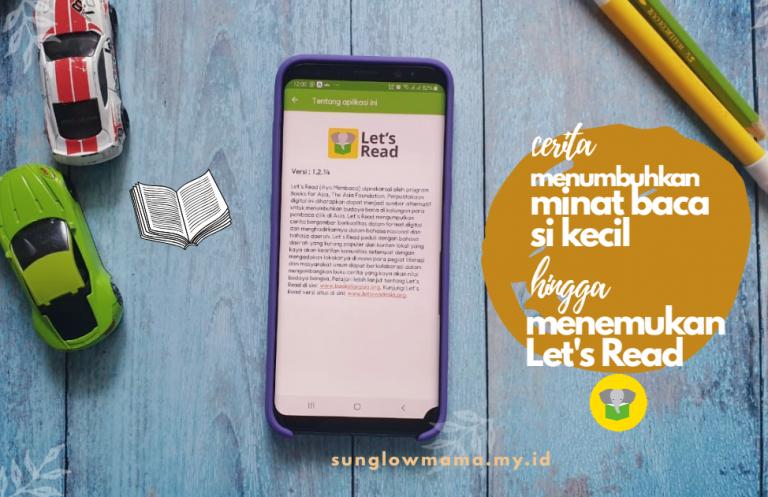 Menumbuhkan Minat Baca Anak Dengan Aplikasi 'Let's Read'