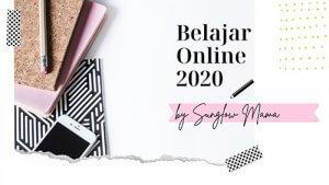 Belajar Online 2020: Mengoptimalkan Peluang Dunia Blog dan Usaha Foto Produk