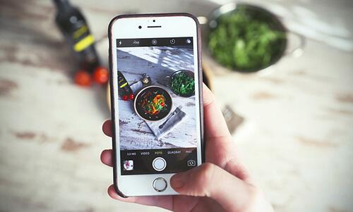 tips food photography di rumah