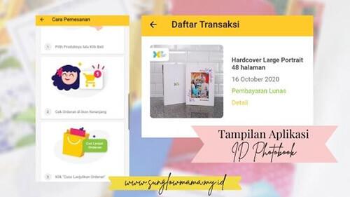 Look Aplikasi ID Photobook