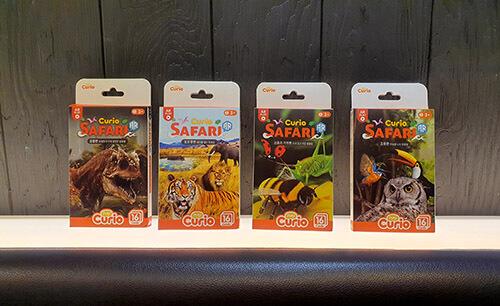 Kartu Curio Safari dari PlayCurio