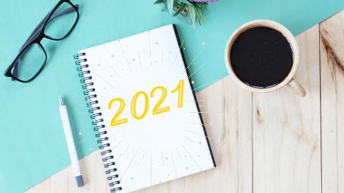 2020 Tahun Kembali Blogging, 2021 Lebih Produktif (Free Kalender dan Planner 2021)