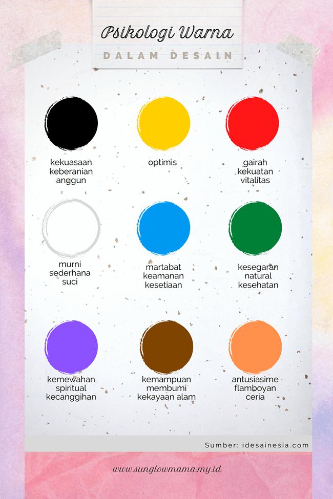 psikologi warna dalam desain