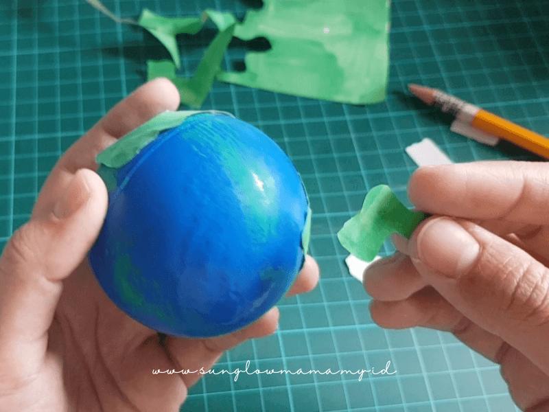 Membuat Mainan Bumi dan Planet DIY Untuk Anak 4 Tahun