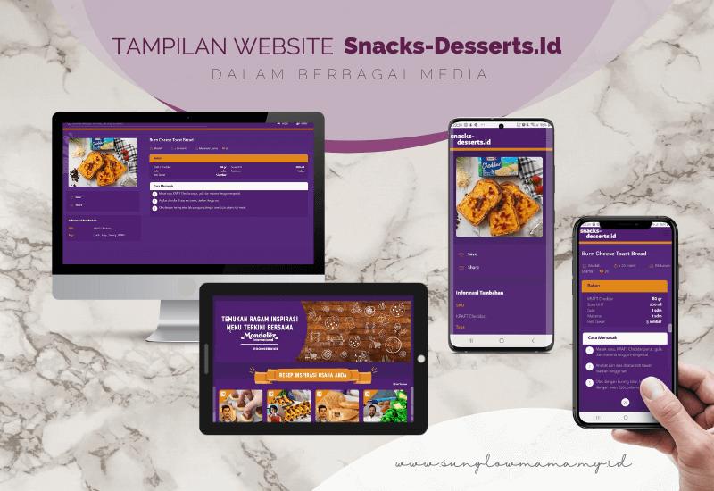 tampilan situs snacks-desserts.id cemilan sehat, cemilan diet