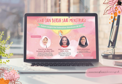 Webinar sehat dan Bersih Saat Menstruasi